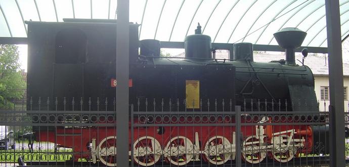 Grad Orahovica – vlak